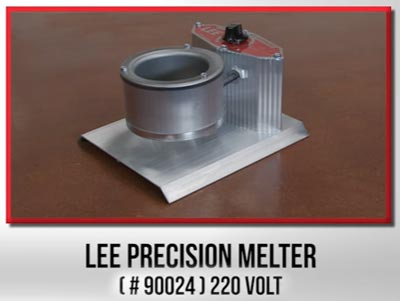 Тигель Lee Precision Melter 4LB 220V 90024