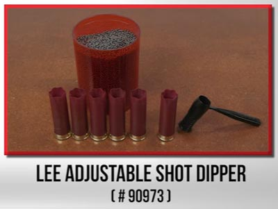 мерка для дроби LEE ADJUSTABLE SHOT DIPPER 90973