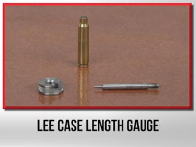 Lee Case Length Gauge/Holder (90149)